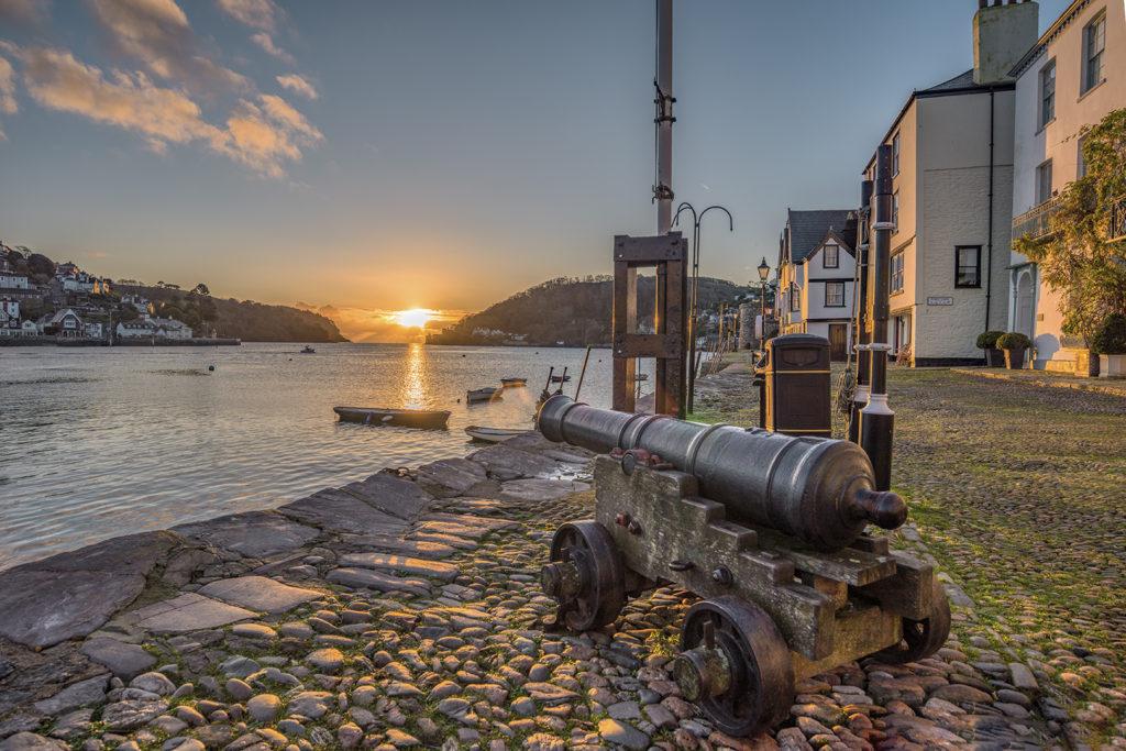 Canon at Bayards Cove, Dartmouth