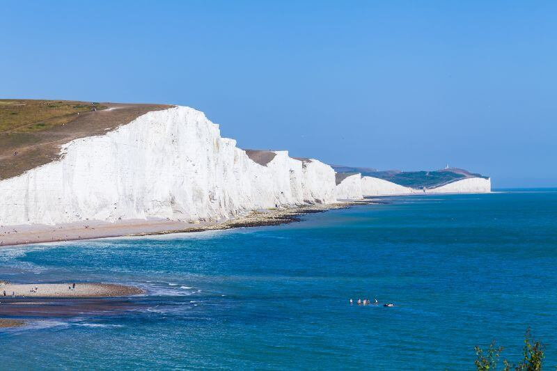 White Cliffs of Dover and Dame Vera Lynn